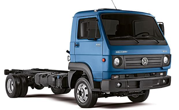 Caminhão Delivery 8160 VW