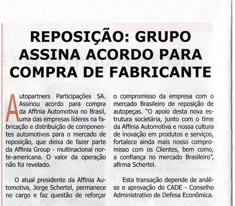 Correio_Mecânico_AFFINIA_venda_julho2015