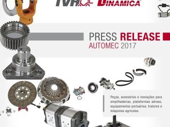 TVH-Dinamica expõe peças e acessórios para máquinas agrícolas na Automec 2017