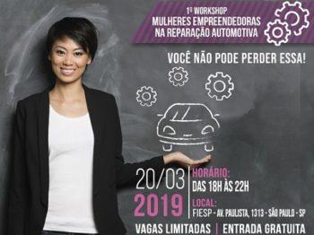 Sindirepa-SP promove primeiro workshop dedicado a mulheres do setor de reparação automotiva