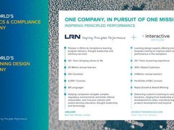 LRN adquire Interactive Services no negócio da ética e compliance