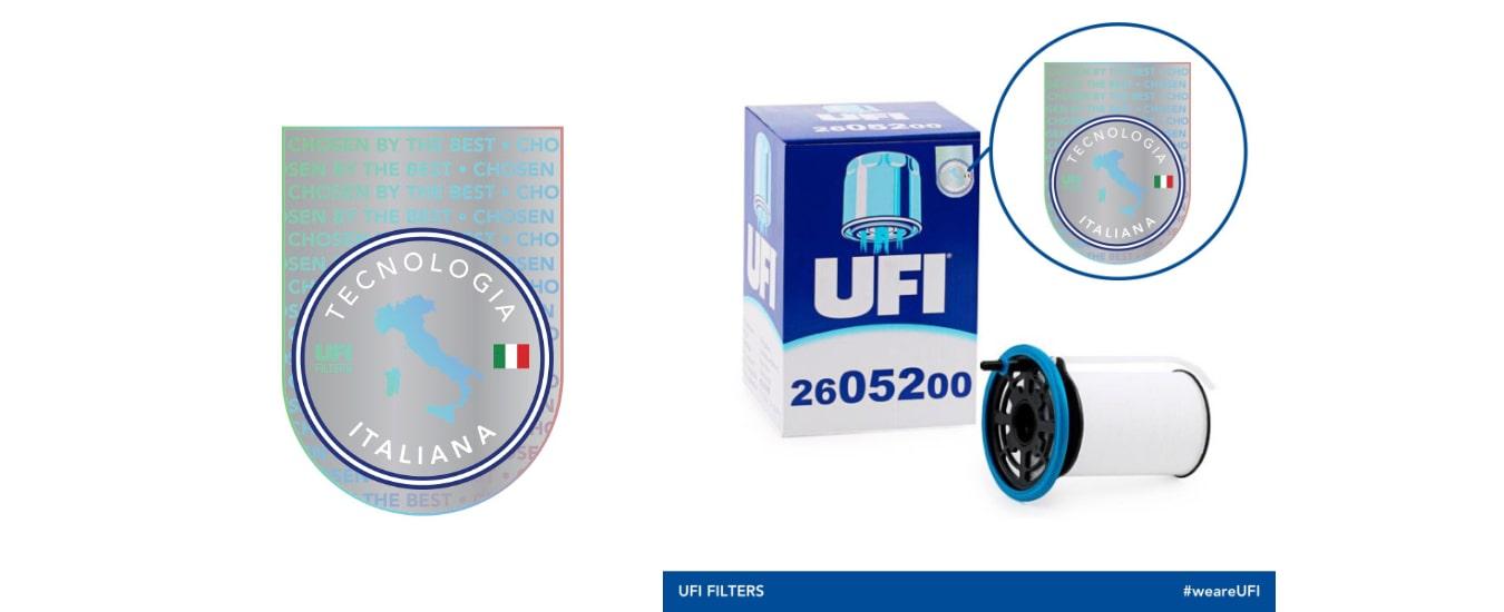 Embalagens UFI Filters, a inovação continua!