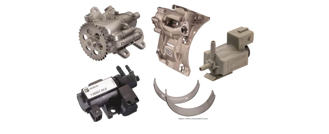 Motorservice apresenta novos itens da Pierburg e da Kolbenschmidt (KS)