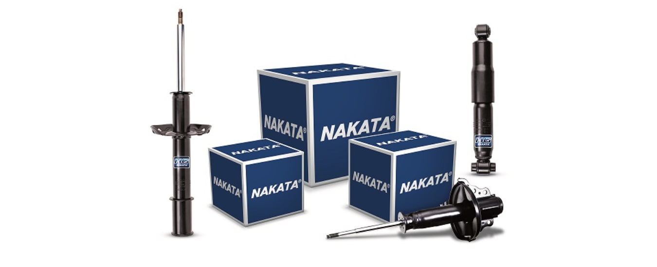 Nakata lança amortecedores para cinco montadoras