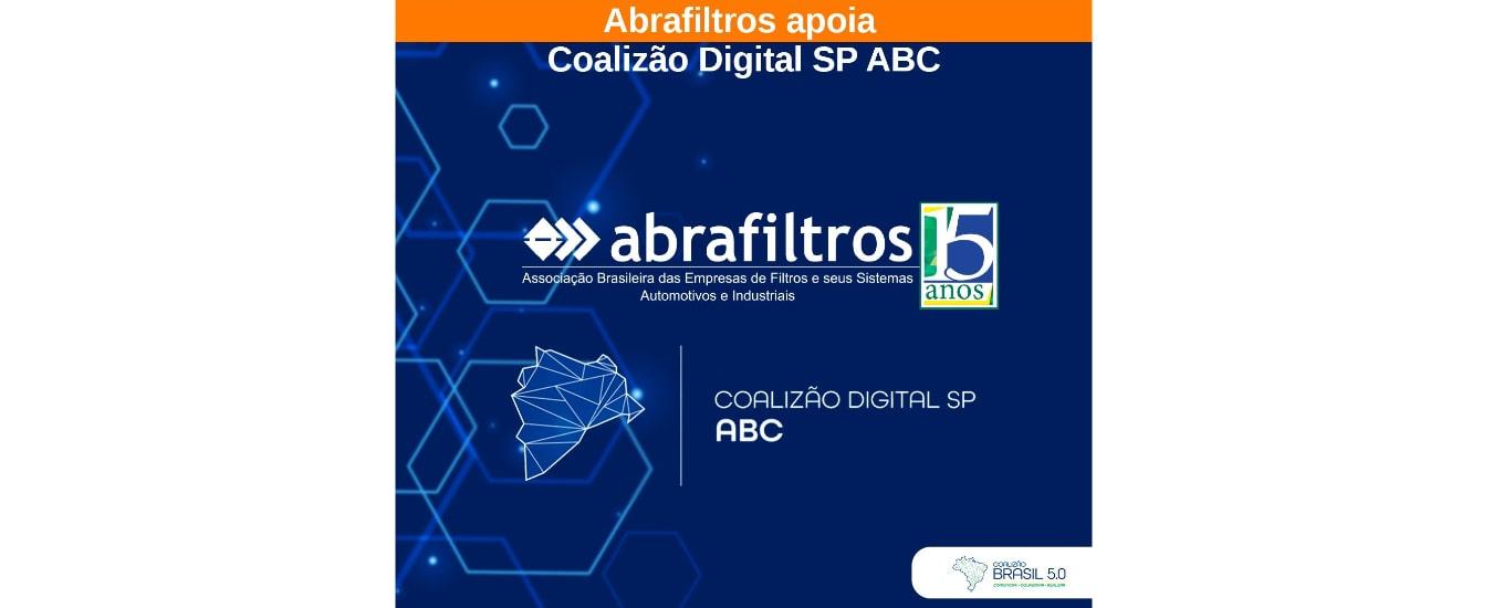Abrafiltros apoia Coalizão Digital SP ABC