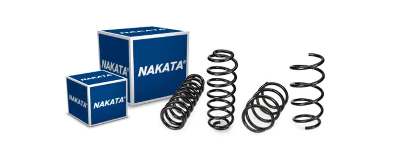 Nakata lança linha de molas de suspensão