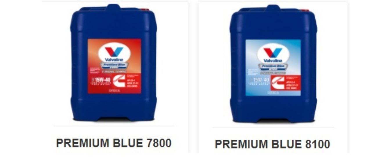 Valvoline possui dois óleos lubrificantes de motor diesel originais Cummins