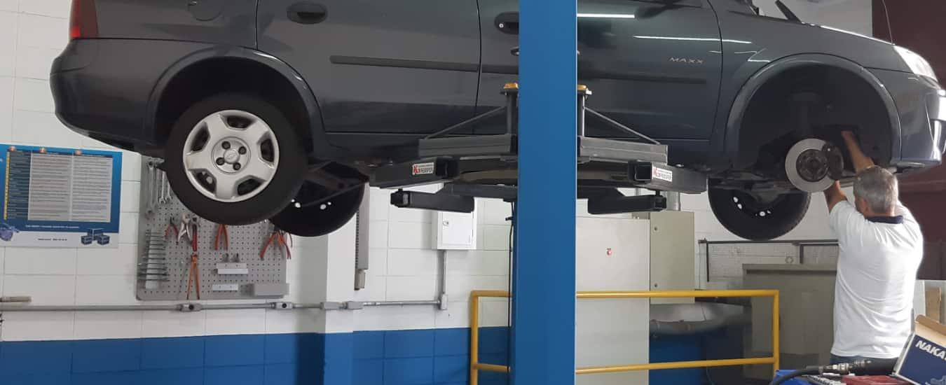 Ferramentas adequadas para utilizar no serviço de manutenção do sistema de suspensão