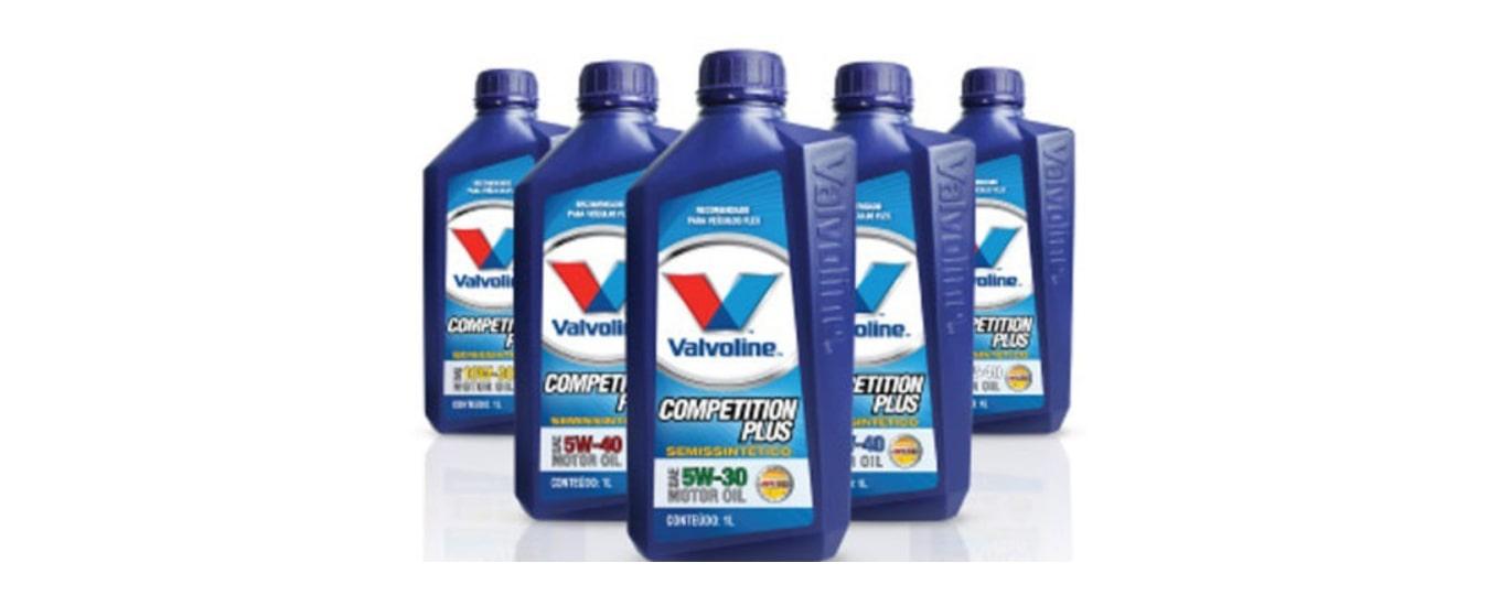 Linha de lubrificantes Competition da Valvoline é unificada e tem nova identidade global para facilitar a escolha do produto