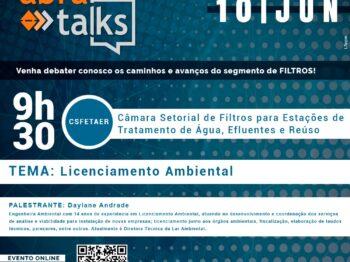 Abra Talks aborda licenciamento ambiental em junho