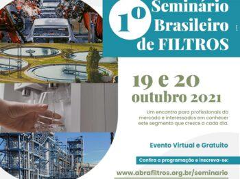 Inscrições do 1° Seminário Brasileiro de Filtros já estão abertas