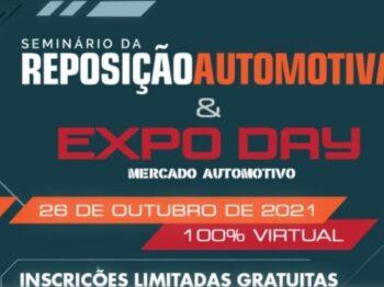 Seminário da Reposição Automotiva mostrará dia 26 de outubro as tendências para o setor
